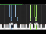 Symphony No. 5 1st Movement - Ludwig van Beethoven Piano Tutorial (Synthesia)