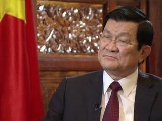 Президент Вьетнама: «Не могу не поехать в Москву, зная о потерях советского народа» (Россия 24, 05-05-2015)