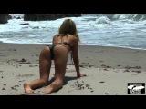 HOTTEST BLOND BIKINI MODEL! Sexy, Beautiful Swimsuit Surf 45SURFER Girl Goddess