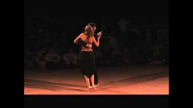 BTF 2008 - Noelia Hurtado Pablo Rodriguez - Milonga @ Brussels Tango Festival