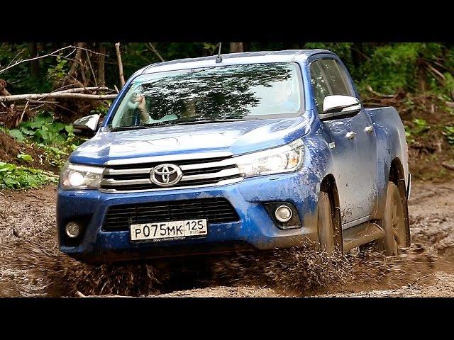 Toyota Hilux 2016 - Offroad на Сахалине! via ATDrive