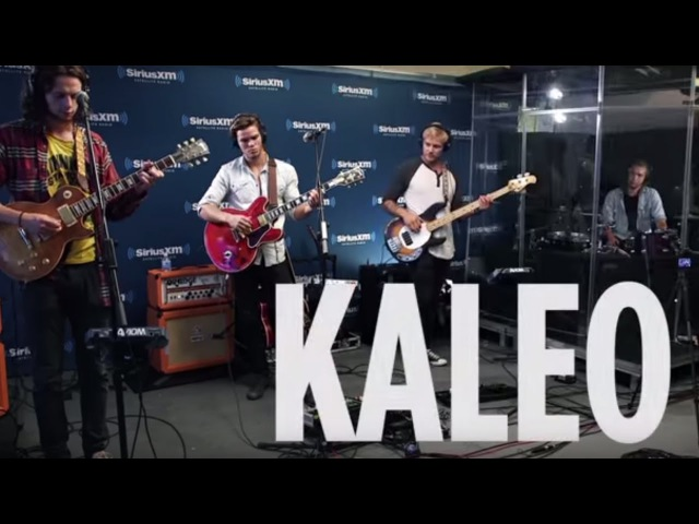 Kaleo Bang Bang Cher Cover Live @ SiriusXM The Spectrum