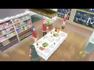 [AnimeSpirit Fundub Team] Nagato Yuki-chan no Shoushitsu - 02 Русская озвучка Arikatozuka & Viki