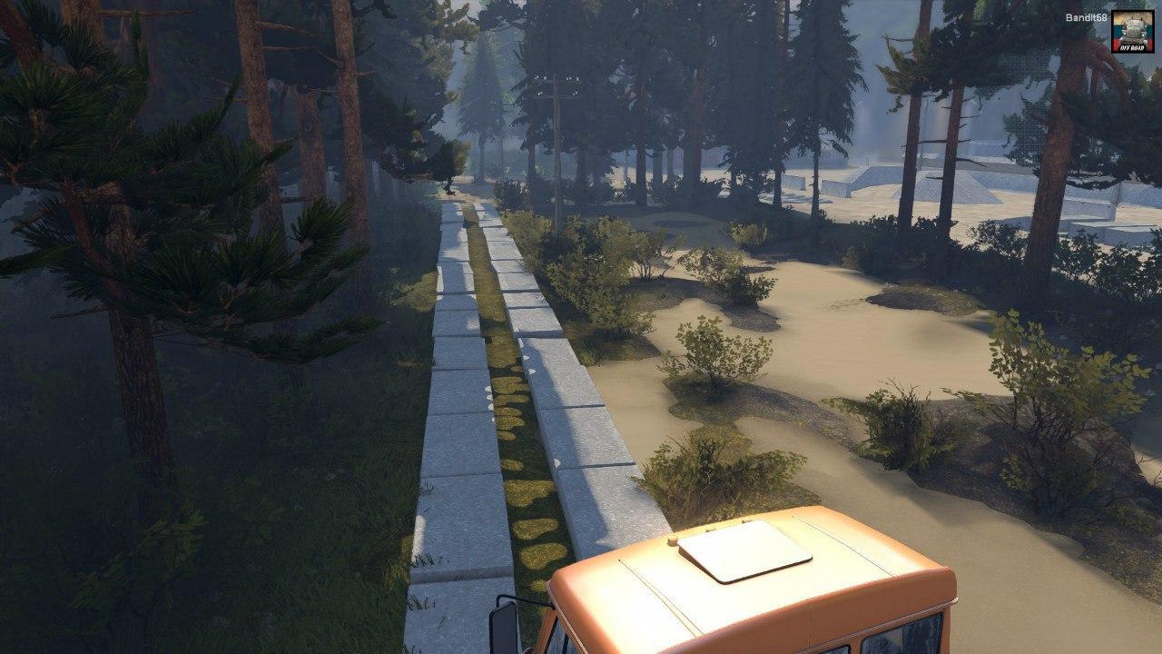 "Карта ""Abandoned mines"" для Spintires - Скриншот 2"