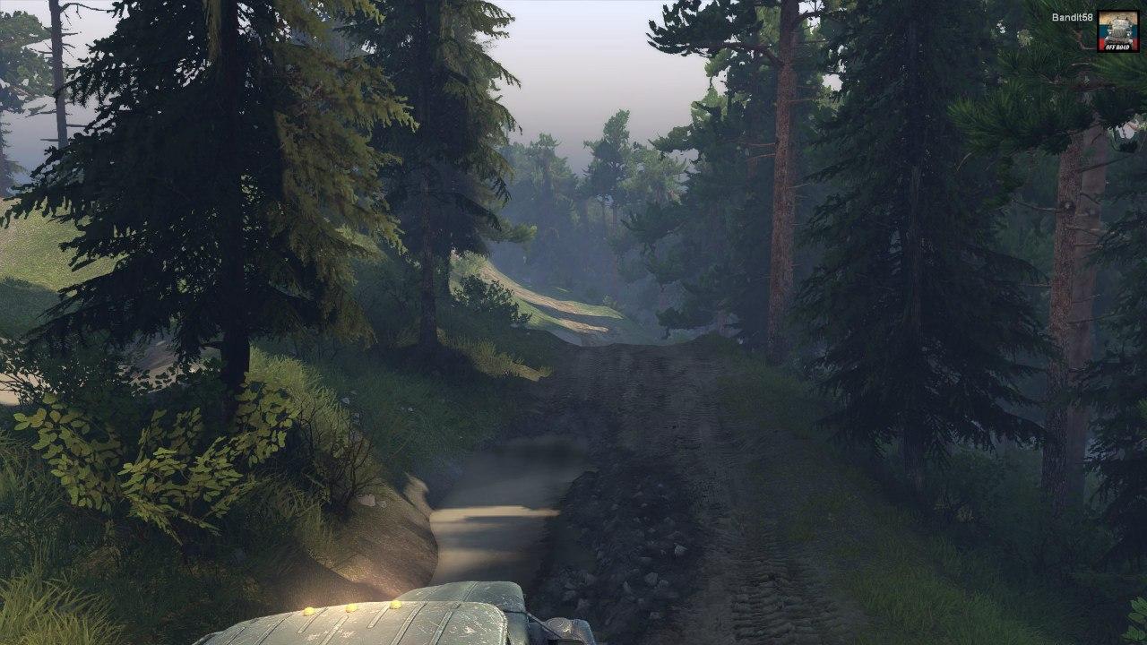 "Карта ""Abandoned mines"" для Spintires - Скриншот 1"