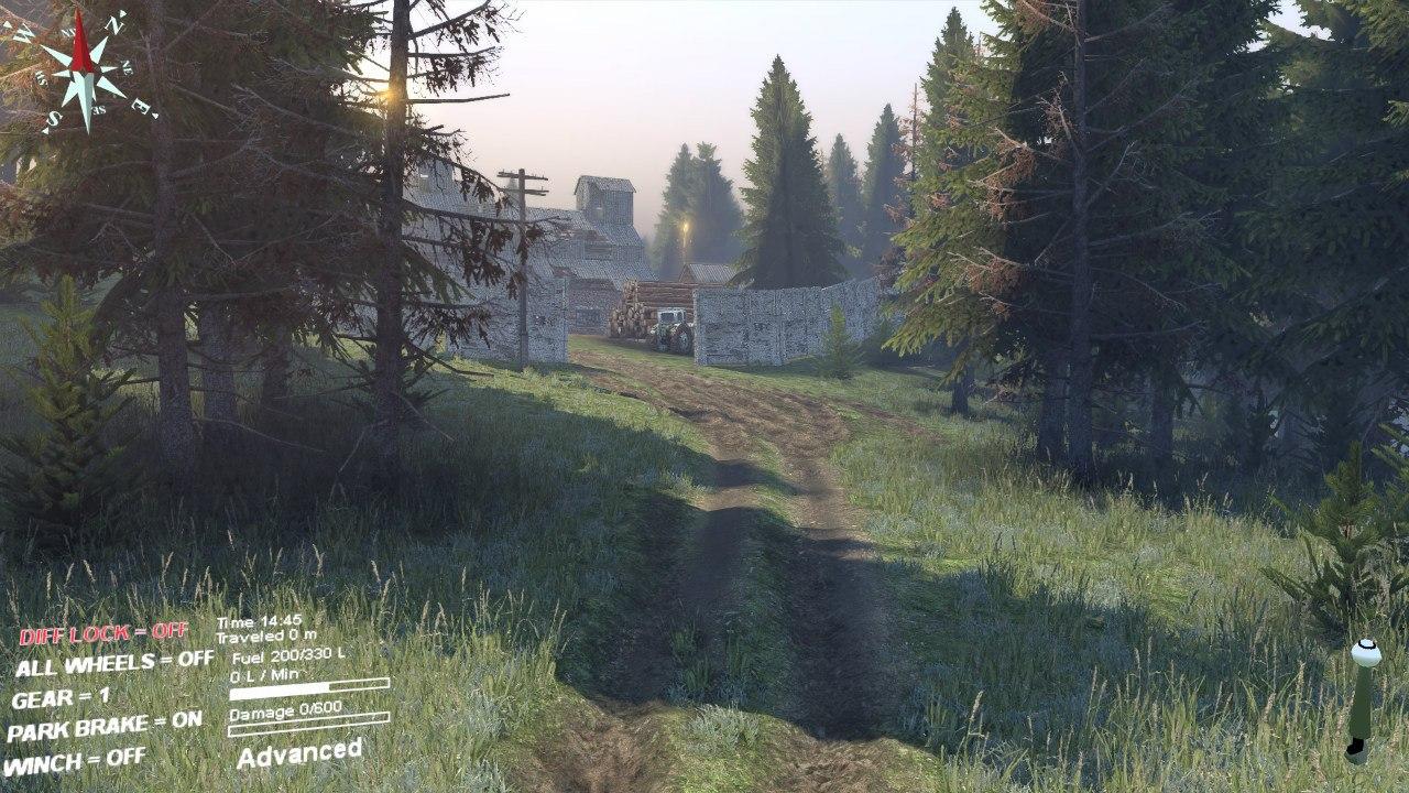 Карта «Кatarina» для Spintires - Скриншот 2