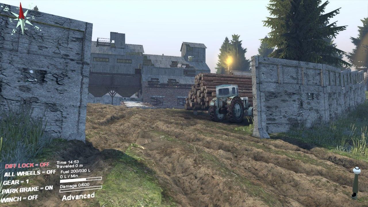 Карта «Кatarina» для Spintires - Скриншот 3