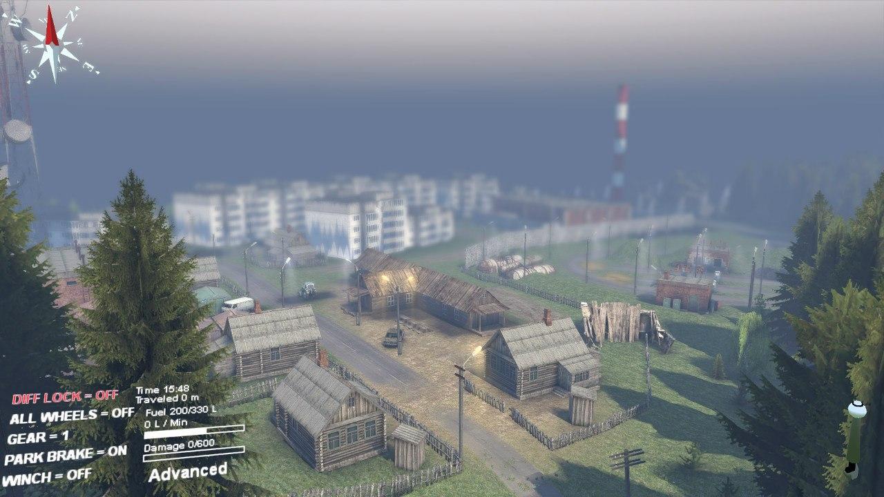 Карта «Кatarina» для Spintires - Скриншот 1
