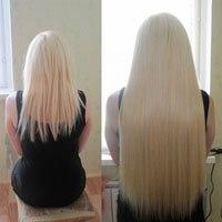 Рост волоса за месяц