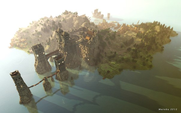 Красивые дома в minecraft vk