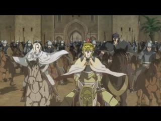 Arslan Senki 24 серия русская озвучка OVERLORDS  Сказание об Арислане 24  Легенда о Арслане