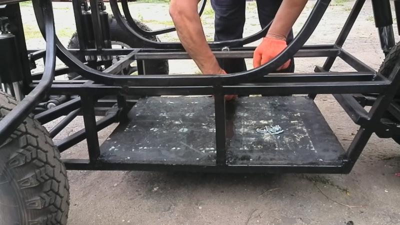 Организация и герметизация аккумуляторного отсека кабинороллера