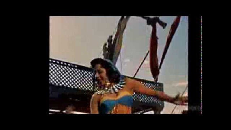 Samia Gamal in Valley of the Kings (1954)