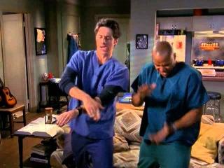 Scrubs, dance mashup [s06e11] (Забавные танцы из сериала