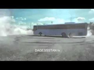 дрифт на автобусе