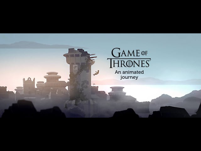 Game Of Thrones, an animated journey - gotseason5 is coming