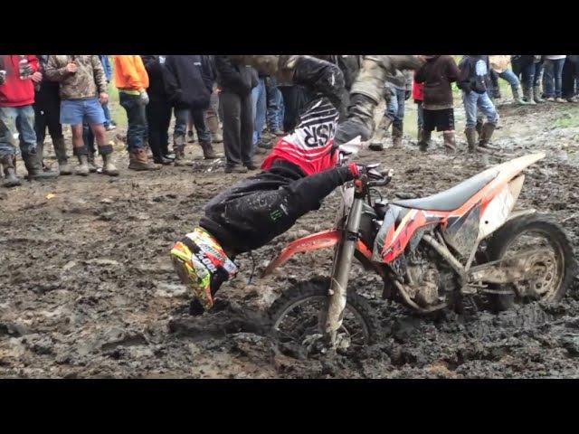 14 Powerline Mud Hole CRASHES