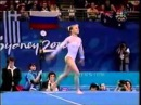 Elena Zamolodchikova RUS 2000 Olympic Games EF FX