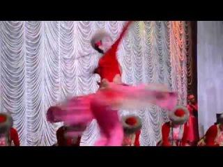2014 красивый уйгурский женский танец Ветер Востока Театр Байкал Бурятия - Дора Балданцэрэн солистка