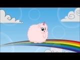 Pink Fluffy Unicorns Dancing on Rainbows - Fluffle Puff [1 HOUR LOOP] [HD]