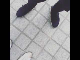 "Super Junior , Haru Oneday on Instagram: ""운명적인 만남 !!! 정말 길가다 운명적으로 세훈이를 만남 !!"
