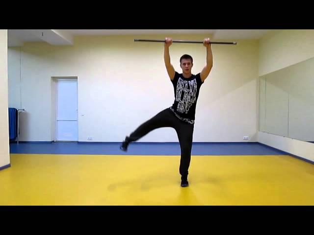 Функциональный Тренинг 9. Силовые упражнения с бодибаром.