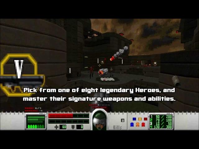 Samsara (Doom Mod) - Gameplay Preview Trailer