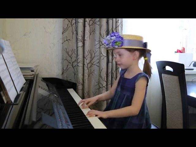 ЛЕДИ СОВЕРШЕНСТВО (к/ф «Мерри Поппинс») Дети поют. Виктория Викторовна. 6 лет.