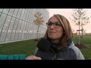 Магдалена Нойнер делится воспоминаниями для рекламы немецкого биатлонного триплета: Шальке, Оберхоф, Рупольдинг 2015/2016