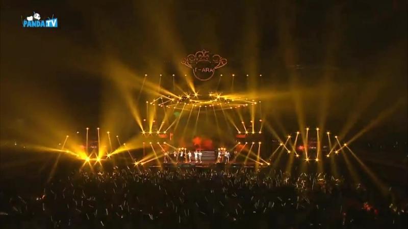 151024 T-ARA Great China Concert In 合肥 T-ARA - Bye Bye