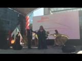 ДЕНЬ ЖЕЛЕЗНОДОРОЖНИКА, г.Москва, Ведущий - Алексей Лапшин, певица - АЗИЗА