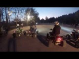 Yamaha Raptor Club. Closure of the atv season in Moscow in 2014.