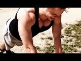 Как накачать грудные мышцы и трицепс в домашних условиях. Масса 4х4.