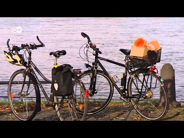 Немцы пересаживаются с автомобилей на велосипеды