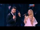 Алексей Чумаков и Юлия Ковальчук (Новая Волна 07.10.2015 HD 1080p.)