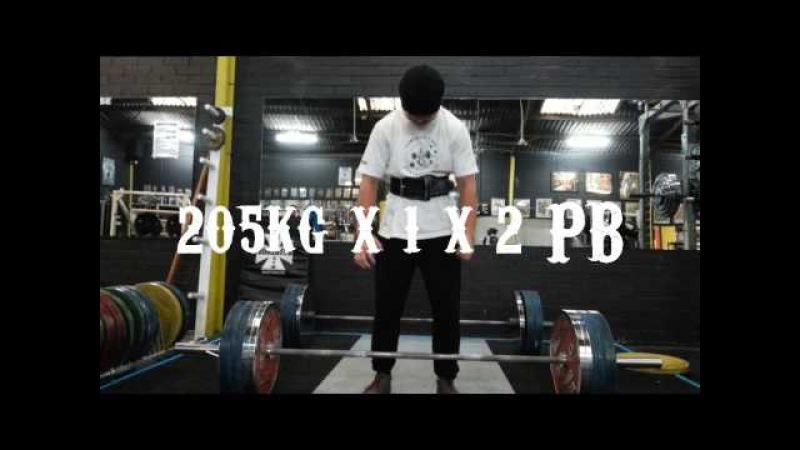 DEADLIFTS 285kg/628lbs x 2 x 1 Ft. Jarabrah deadlift PB