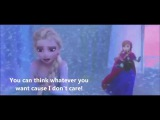 Life's Too Short- Frozen (Idina Menzel and Kristen Bell) Video w/ Lyrics