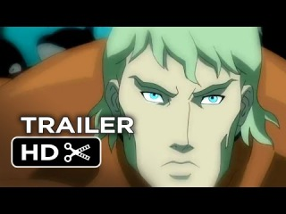 Justice league throne of atlantis official trailer 1 2014 dc