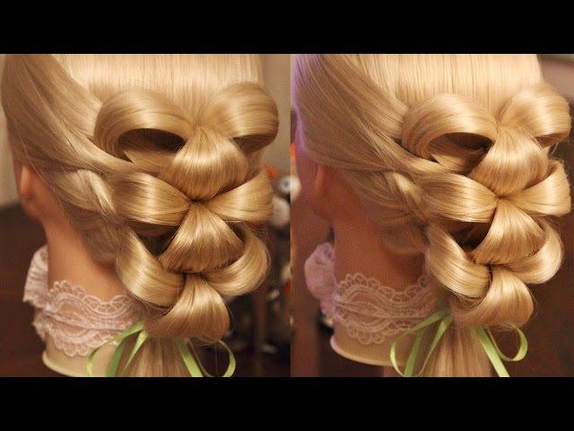 Причёска Лилии | Авторские причёски | Лена Роговая | Hairstyles by REM | Copyright ©