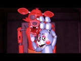 Toy Bonnie Fanboys on Foxy-SENPAI~ [FNAF SFM]