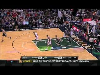 HD San Antonio Spurs vs Utah Jazz - Full Highlights | December 09, 2014 | NBA Season 2014-15