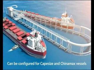 Струнный грузовой порт SkyWay (12.09.2011)