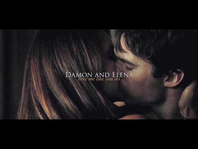 Damon and Elena   Love Me Like You Do