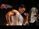 Joseph Lee shoulder workout shoot