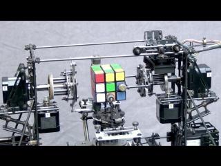 Машинка для сбора кубика рубика