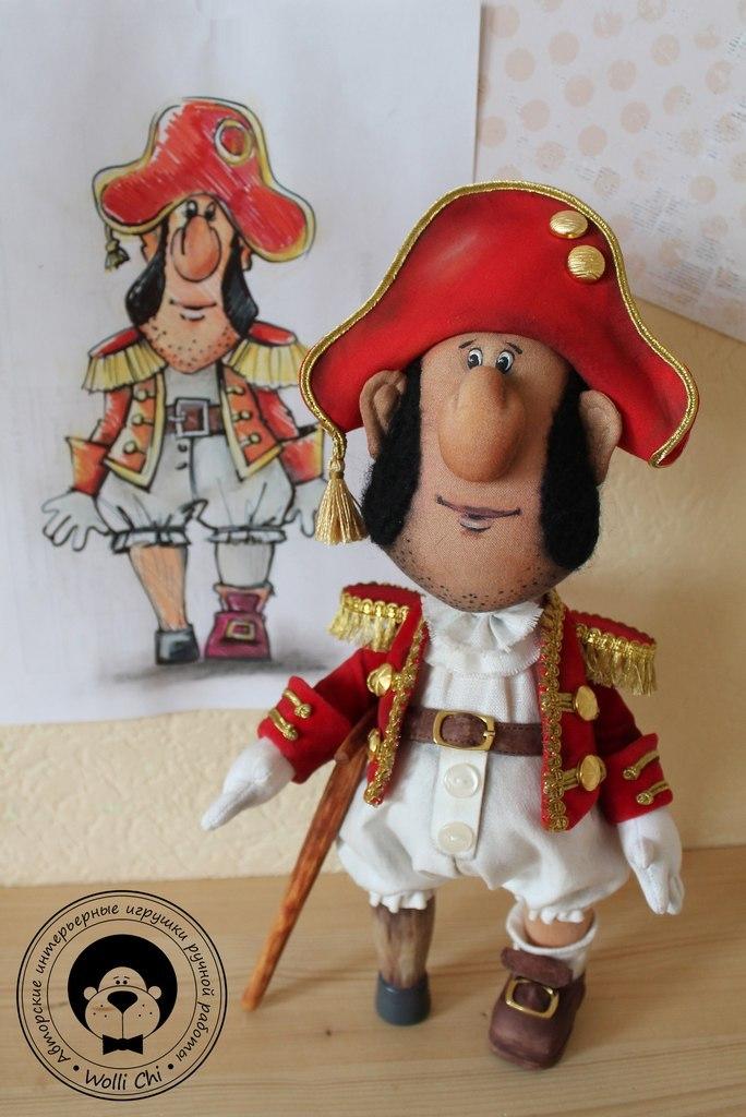 кукла пират