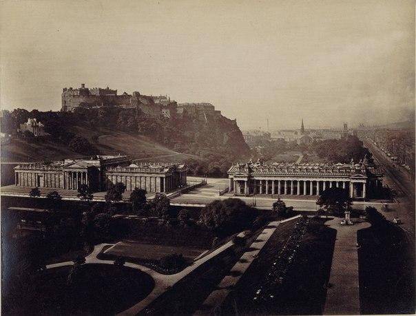 Эдинбург на фотографиях.