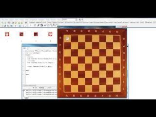 Урок 27 Соколов Виталий  Создание игр на делфи  Создание игры шашки avi
