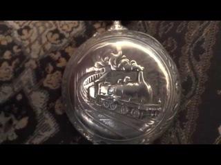 Часы старинные карманные Doxa.Эротическая сцена. Запрещено детям до 16 лет!