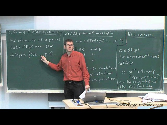 Lecture 7 Introduction to Galois Fields for the AES by Christof Paar